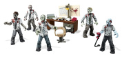 CALL OF DUTY MEGA BLOKS ZOMBIES OFFICE MOB FIGURE CONSTRUCTION PLAY SET TOY