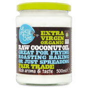Lucy Bee Extra Virgin Fair Trade Organic Raw Coconut Oil 500ml