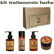 Treatments Products Beard Beard Renee B. Shampoo, Conditioner, Oil Wax Kit/Set