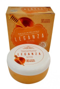 Leganza Pleasure Body Scrub with Honey and Milk