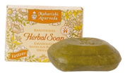 Maharishi Ayurveda Herbal Vetiver Soap, 1er Pack (1 x 100g) - Controlled Organic Cosmetics BDIH