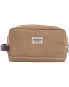 Brakeburn Tan Canvas Waterproof Washbag