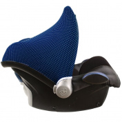 Sun canopy for Maxi-Cosi Cabriofix - Citi - Pebble - Blue dots