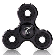 Fidget Spinner, Spinner Fidget Tri-Spinner Fidget Toy Hybrid Bearing EDC Focus Toy Finger Top for Killing Time Spins 2-5 Min