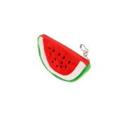 Meetory Lady Girl Cute Watermelon Shape Mini Pouch Cosmetic Bag Zipper Pouch Coin Purse