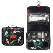ColorMixs Hanging Toiletry Cosmetics Travel Bag Cosmetic Carry Case for Woman Man Travel Organisation Gift