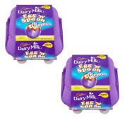 2 x Cadbury Dairy Milk Egg 'n' Spoon with Oreo (4 eggs to share) 136g
