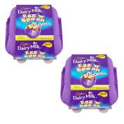2 x Cadbury Dairy Milk Egg 'n' Spoon with Oreo (4 eggs to share) 136g