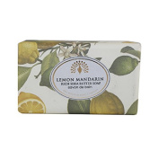 The English Soap Company Rich Shea Butter Soap for Women, Lemon Mandarin, 210ml