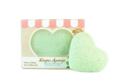 Konjac Sponge - All Natural -Gently Exfoliates and Revitalises Skin, While Removing Dead Skin Cells, Blackheads and Oils