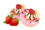 Strawberry Donut Soap Treat - Natural Soap - Ideal Gift for Any Occasion