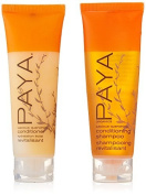 PAYA Organics Luscious Quenching Shampoo & Conditioner lot of 16 (8 of each) 30ml bottles by Paya