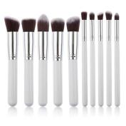 Dealzip Inc Quality Synthetic Professional Makeup Brush Set Cosmetics Foundation Blending Blush Face Powder Brush Makeup Brush Kit