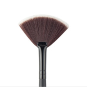 Redcolourful Cosmetic Black Small Fan Brush Powder Foundation Makeup Blush Brushes