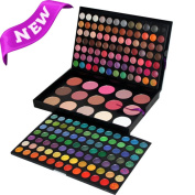 only you 183 Colour Eyeshadow Palette Makeup Cosmetic Contouring Kit Combination with Blusher / Concealer - Perfect for Professional and Daily Use