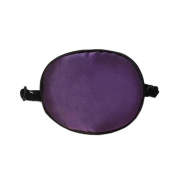 Children Silk Sleep Eye Patch for Lazy Eye Amblyopia Treatment ,Purple