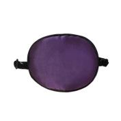 Children Silk Sleep Eye Patch for Lazy Eye Amblyopia Treatment ,Purple