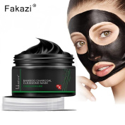 .   Blackhead Remover Mask,Canserin 120g Black Mud Deep Cleansing Pilaten Blackhead Remover Purifying Peel Face Mask