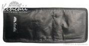 KENCHII KEL8LG 8-shear Real Leather Zip Case Holds 8 Shears, Large