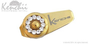 KENCHII KEJS-GOLD Jewl Screw in Gold, Fits 14cm Shears and Longer