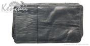 KENCHII KEL8SM 8-shear Real Leather Zip Case Holds 8 Shears, Small