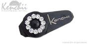 KENCHII KEJS-BLACK Jewl Screw in Black, Fits 14cm Shears and Longer