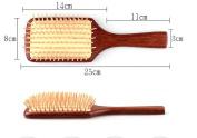 Welwel Natural Red Sandalwood Hair Brush Paddle Brush No Static Brush Massage Hair Brush Detangle Hair Brush With Premium Quality
