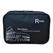 E-Bro® Portable Multi-Functional Waterproof Travel Toiletry Wash Cosmetic Bag Makeup Storage Case Hanging Grooming Storage Bags