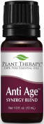 Plant Therapy Anti Age Synergy Essential Oil. 100% Pure, Undiluted, Therapeutic Grade. 10 ml (1/3 oz).