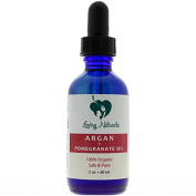 Loving Naturals 100% Organic Argan + Pomegranate Oil for Face, Hair Treatment, Anti-Ageing, Skin for Sensitive, Oily or Severely Dry Skin for Women and Men
