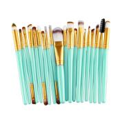 Kwok Brush,20 pcs Makeup Brush Set tools Make-up Toiletry Kit Wool Make Up Brush Set
