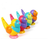 Supershopping 1 pc 2 in 1 Kids Whistle Baby Bath Toy Bird Water Whistles