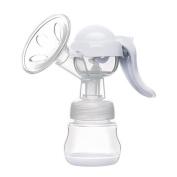 Shopline Manual Breast Pump with Lid, BPA Free Breastpump for Babies' Breast Feeding