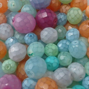 Modebeads,Czech Glass Fire Polished Mixed Beads 0.2kg bags (waxed colosrs) bxh44