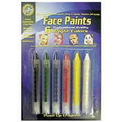 Crafty Dab Push-up Face 6 Pk Paints [Set of 2]