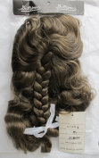 DOLLSPART Craft DOLL Hair WIG Style # 01059 Fits SIZE 41cm Colour LIGHT BROWN Synthetic JAPAN Hair