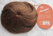 MONIQUE Craft 100% HUMAN Hair DOLL WIG Style TEENY WEENIE Fits Size 28cm - 30cm Colour AUBURN
