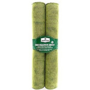 Member's Mark Decorative Mesh Ribbon, 2-Pack - Green