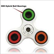 Hot Ball Bearings! AMA(TM) 3PCS 608 Hybrid Ball Bearings For Tri-Spinner Hand Spinner EDC Fidget Toy