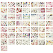 AllyDrew Beauty Nail Art Nail Stickers, 50 sheets