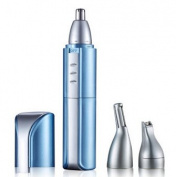 SUPRENT Nose Trimmer with Vacuum Cleaning System,Men's,Wet/Dry, Battery-Operated