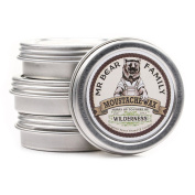 Mr Bear Family Moustache Wax (30ml/1.01oz) - Made in Sweden (SCENT