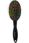 Celavi Rainbow Detangler Professional Salon Hair Brushes