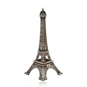 1 X Apollo23 - 18cm Metal Paris Eiffel Tower Craft Art Statue Model Desk Room Decoration Gift