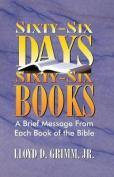 Sixty-Six Days, Sixty-Six Books