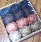 Valdani 3-strand cotton floss - As Time Goes By, Set 2