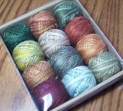 Valdani 3-strand cotton floss - Country Lights, Set 2