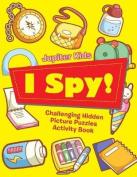 I Spy! Challenging Hidden Picture Puzzles Activity Book