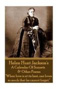 Helen Jackson - A Calendar of Sonnets & Other Poems