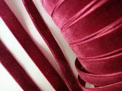 Wholesale Roll Of 200 yards Velvet 1cm Ribbon (R116-Burgundy Red) US Seller Ship Fast